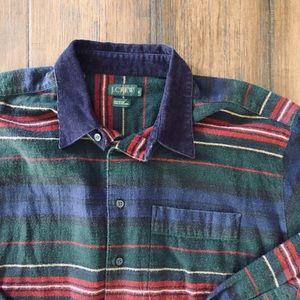 *RARE* Vintage 1990's J.Crew Flannel Shirt